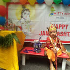 Janmashtami Celebration WKSN ( 03/09/2015) Playgroup To Junior KG
