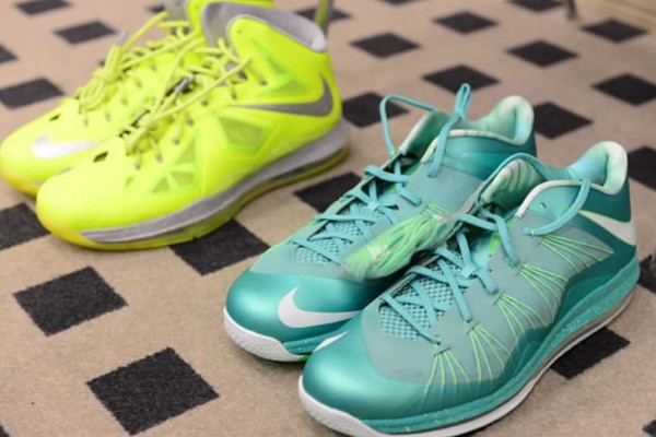 A Closer Look at LeBron X Low EASTER by King James