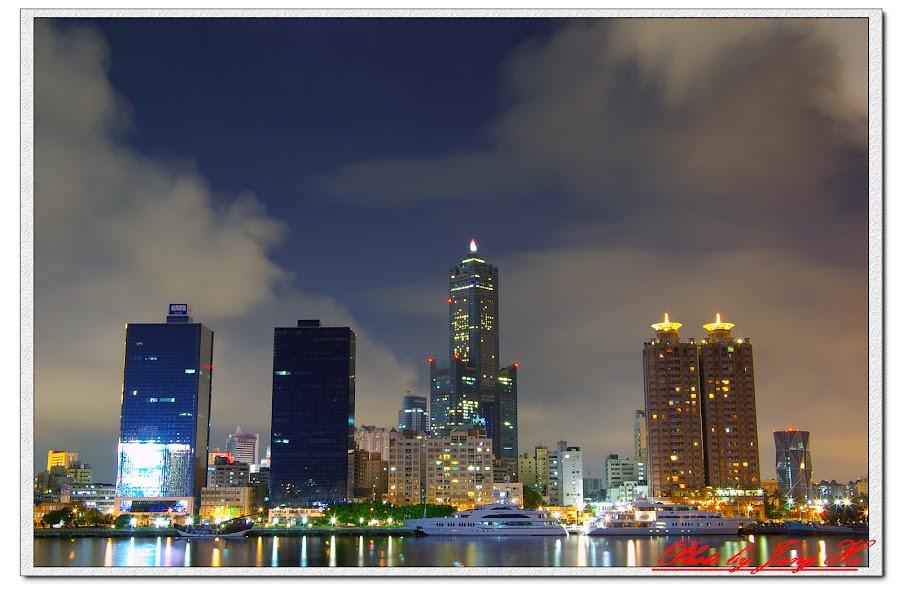 真愛碼頭看夜景