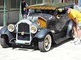 Geoff's 1927 Buick rat rod, 425 powered with 6 2gc's.