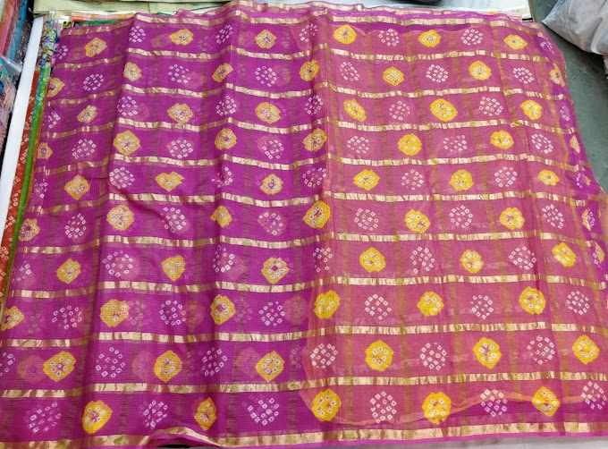 Latest Kota Bandini Saree Design
