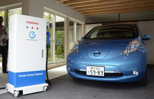 El Nissan Leaf Ahora Puede Prender las Luces de Tu Casa