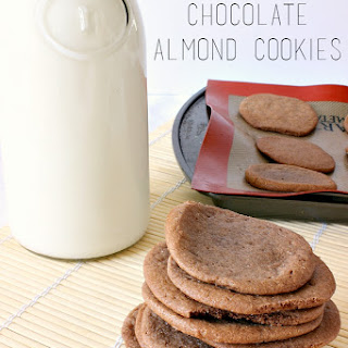 Salted Chocolate Almond Cookies