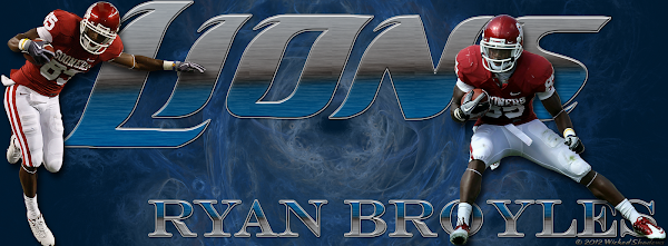 Detroit Lions Ryan Broyles Facebook Cover Photo