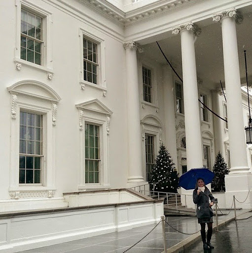 Colleen Lanin at the White House Travel Blogger Summit