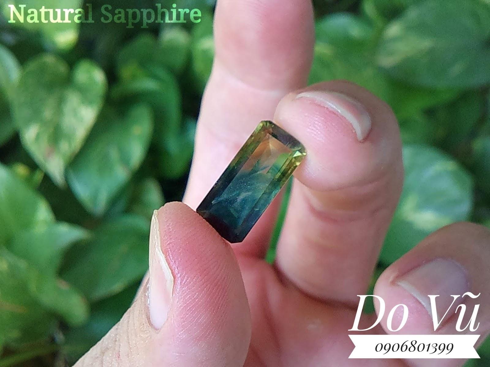 Đá Sapphire Buôn Hồ thiên nhiên Việt Nam