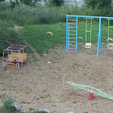 Светлана. Детская площадка,сделанная руками молодых мамочек и папочек.