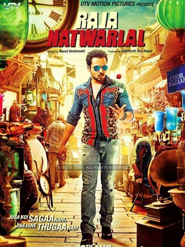 Poster of Bollywood film Raja Natwarlal starring Emraan Hashmi.