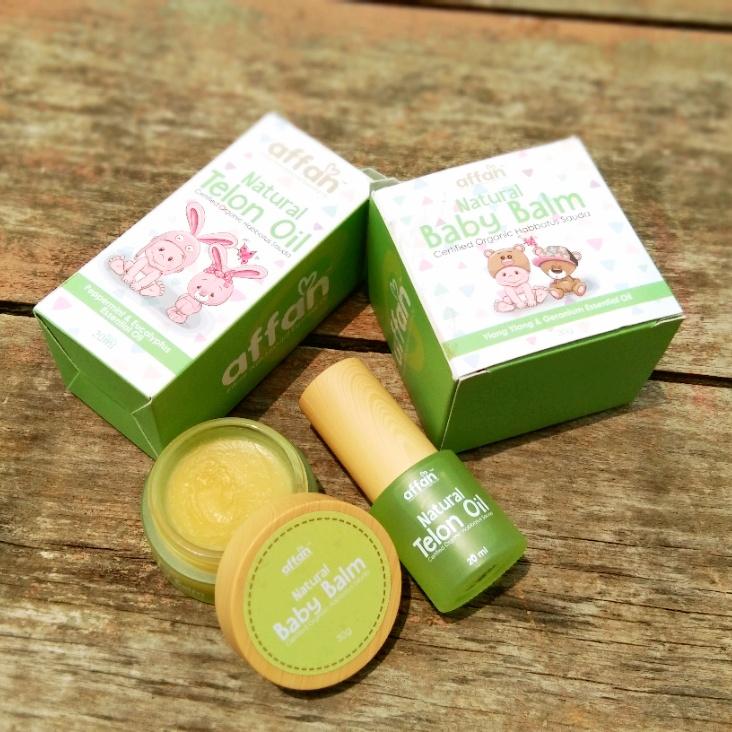 Affan Natural Essential Oil Membantu Si Manja Tidur Lena