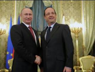 François Hollande exhorte son homologue russe à trouver une issue politique au conflit syrien