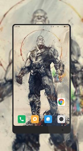 thanos wallpaper iphone
