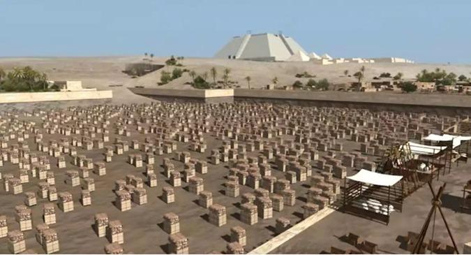 piramides foi assim que foram construidas