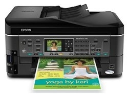 How to Reset Epson ME-940FW printer – Reset flashing lights error