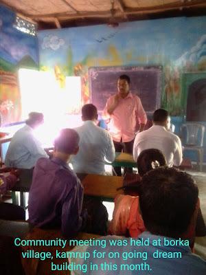 Presentation of SALT at Barkha Village