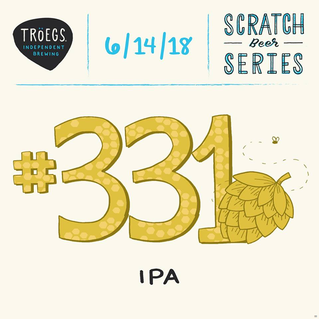 Troegs Releases Scratch # 331 IPA