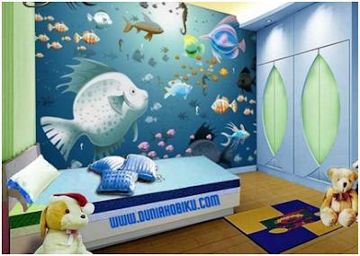 wallpaper kamar anak