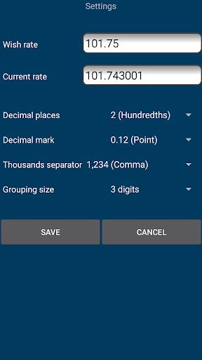 Us Dollar Serbian Dinar Currency Converter Screenshot 3