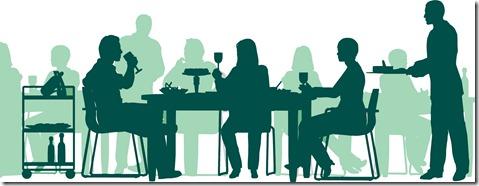 Restaurant scene