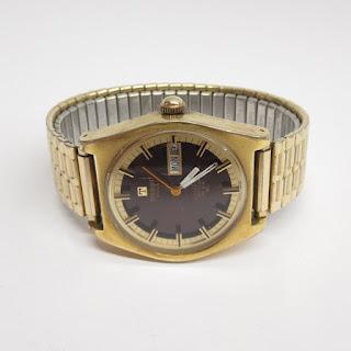 14K Gold Tissot Vintage Automatic Seastar  PR516 Watch