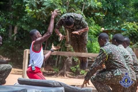 Closing Ceremony for High-Risk Operational Training at Huhunya (Photos)