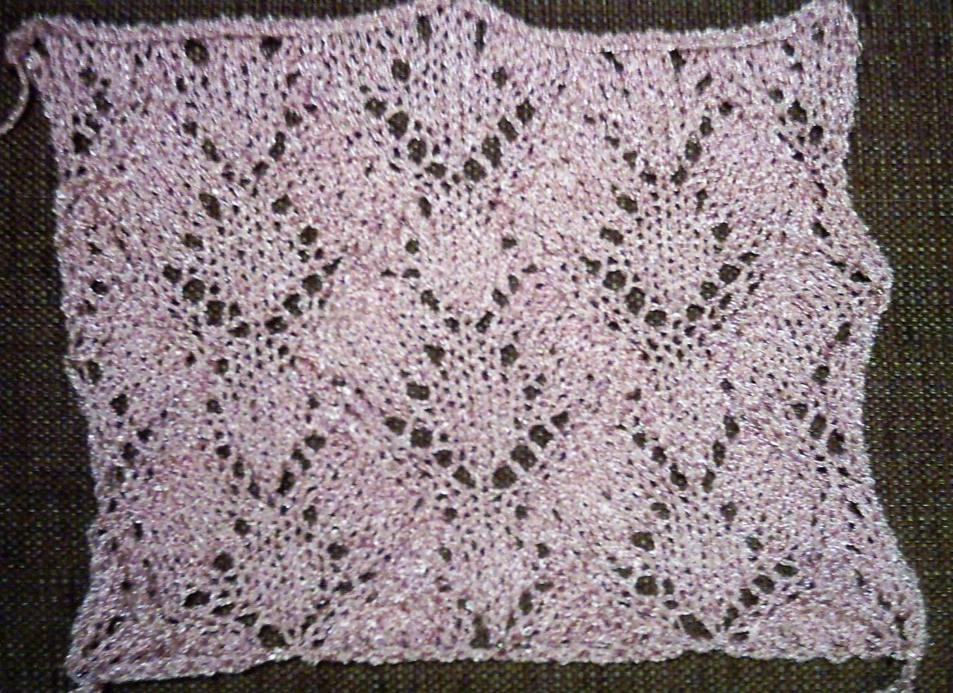 pulovere tricotate manual incepute de sus