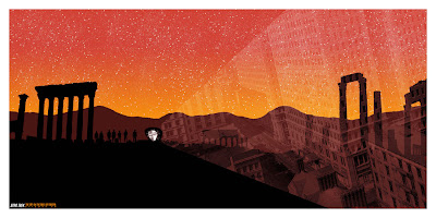 "Star Trek ""The City on the Edge of Forever"" Screen Print by Dan McCarthy"