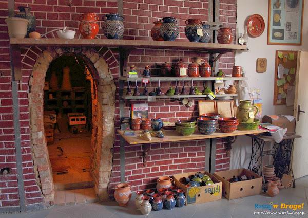 Chmielno - Muzeum Ceramiki Neclów - stary piec do wypalania ceramiki