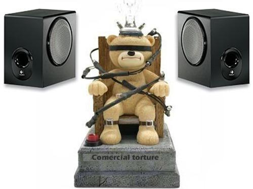Tortura da música comercial