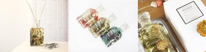 花草精油擴香瓶( 125 ml)  想要每天回到家就撲入一股淡淡的清香,不用噴灑、點燃蠟燭,讓你體驗另一種香味的新選擇。