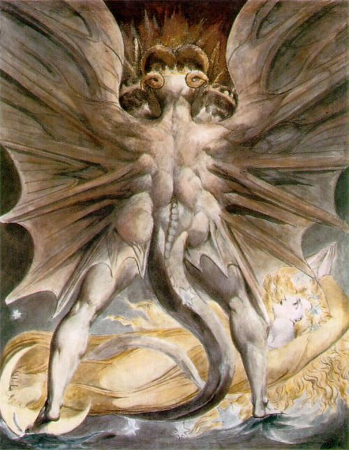 Great Red Dragon By William Blake, William Blake