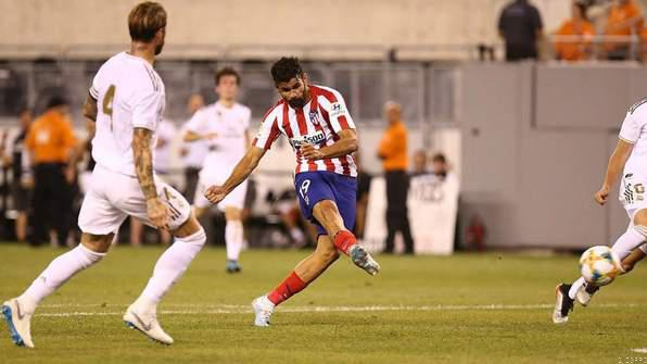 Diego Costa scores 4 out of 7 Atletico scored against Real Madrid. PHOTO | SKYSPORTS
