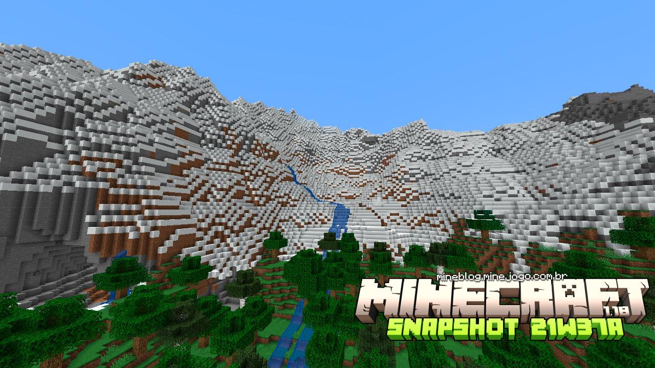 Minecraft 1.18: Snapshot 21w37a
