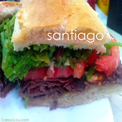 CarouLLou.com Carou LLou in Santiago de Chile sandwich+-