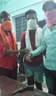 Bihar Crime/अवैध हथियार के साथ तीन बदमाश गिरफ्तार