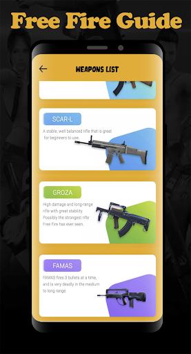 Guide For Free Fire Diamond 2020 1.0 screenshots 1