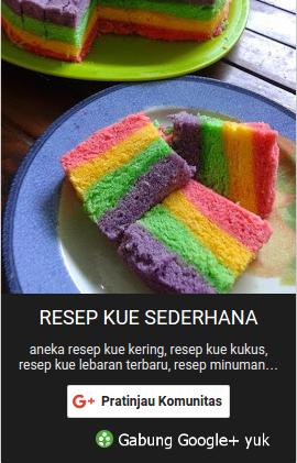 Resep Kue Sederhana