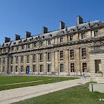 Château de Vincennes : pavillon du Roi, façade est