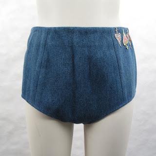 *SALE* Öhlin/D Denim Hotpants