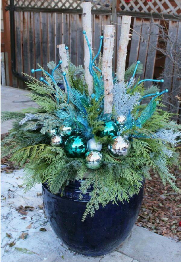 M s y m s manualidades hermosas decoraciones navide as for Decoracion navidena para exteriores