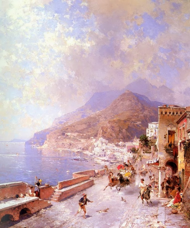 Franz Richard Unterberger - Amalfi