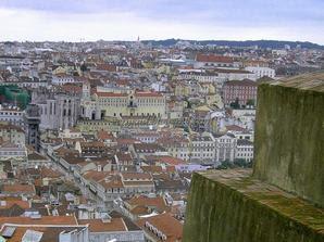 Лиссабон у стен старой крепости Сан Жорже