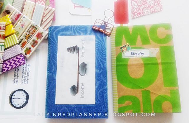 Blogging planner insert