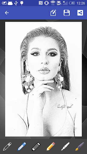 Portrait Sketch screenshot 1