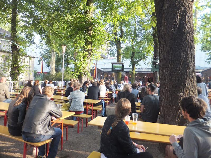 Cerveza rubia, Prater, Biergarten de Berlín