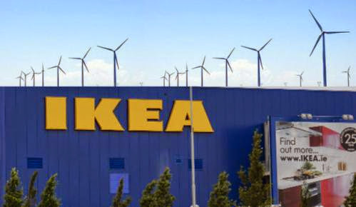 Getting Off The Grid Ikea Leads The Way In Wind Energy