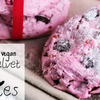 Gluten-Free & Vegan Pink Velvet Chocolate Chip Cookies