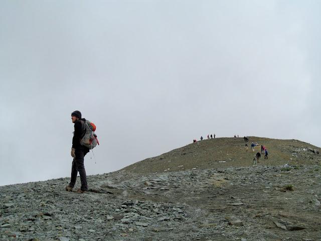 Almost to the summit of Handies Peak