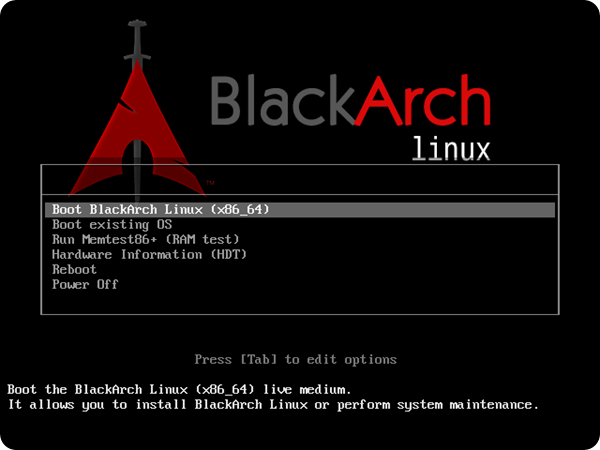 blackarch-syslinux