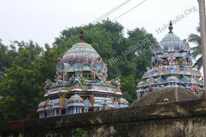 Thiru Aakkoor – Vimana Gopurams
