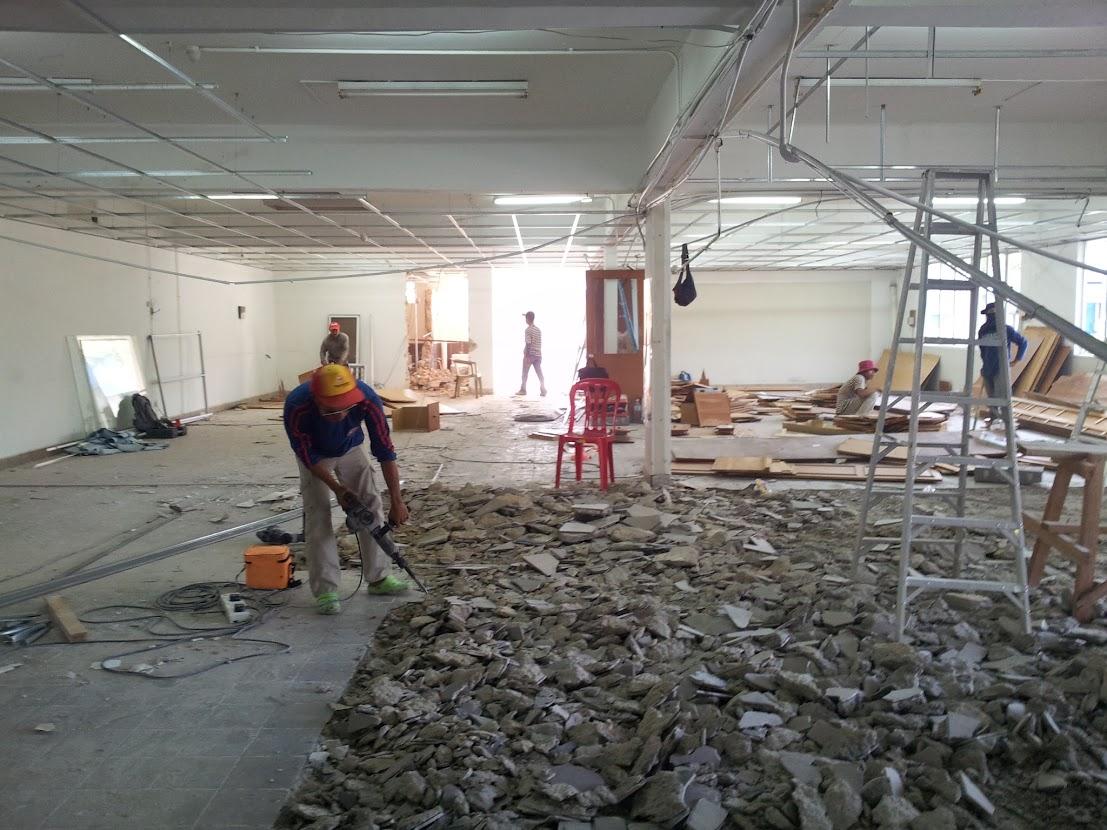 remove flooring